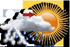 Nublado com Pancadas a Tarde